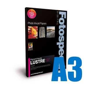 Fotospeed Pigment Friendly Lustre 190 Photo Paper - A3 - 100 Sheets