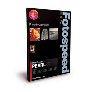 Fotospeed Smooth Pearl 290 Photo Paper - 7x5 - 100 Sheets