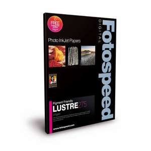 Fotospeed Pigment Friendly Lustre 275 Photo Paper - 8x10 - 100 Sheets