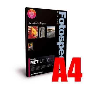 Fotospeed Metallic Lustre 275 Photo Paper - A4 - 25 Sheets