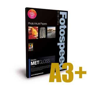 Fotospeed Metallic Gloss 275 Photo Paper - A3+ - 25 Sheets