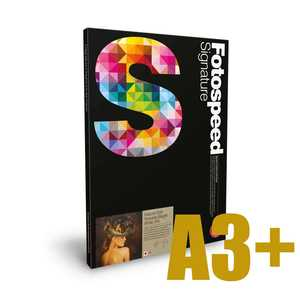 Fotospeed Natural Soft Textured Bright White 315 Photo Paper - A3+ - 25 Sheets