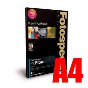 Fotospeed Platinum Gloss Art Fibre 300 Photo Paper - A4 - 25 Sheets