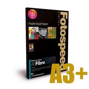 Fotospeed Platinum Gloss Art Fibre 300 Photo Paper - A3+ - 25 Sheets