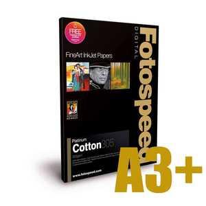 Fotospeed Platinum Cotton 305 Photo Paper - A3+ - 25 Sheets