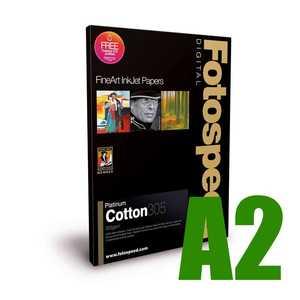 Fotospeed Platinum Cotton 305 Photo Paper - A2 - 25 Sheets