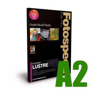 Fotospeed Platinum Lustre 270 Photo Paper - A2 - 25 Sheets