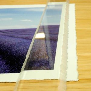 Fotospeed Deckle Edge Ruler - Create Your Own Deckle Edge Paper - 520mm