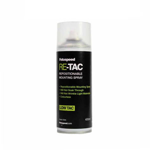 Fotospeed ReTac Archival Adhesive Spray - 400ml