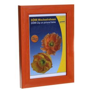 Dorr Hartmut Orange 12x8 Wood Photo Frame