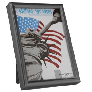 New York Steel Photo Frame - 9x13cm