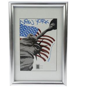 New York Silver Photo Frame - 13x18cm