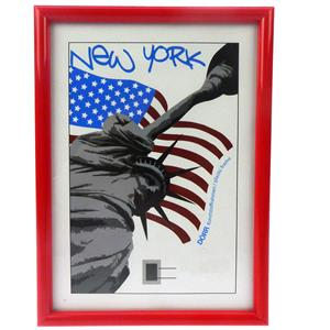 New York Red Photo Frame - 30x40cm