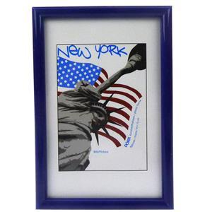 New York Blue Photo Frame - 15x20cm
