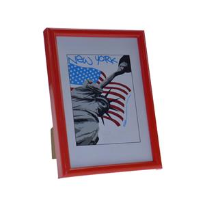New York Red Photo Frame - 15x20cm
