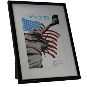 New York Black Photo Frame - 18x24cm