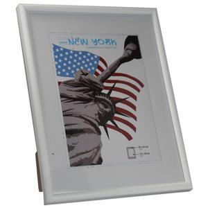 New York White Photo Frame - 18x24cm