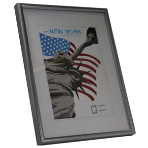 New York Steel Photo Frame - 18x24cm
