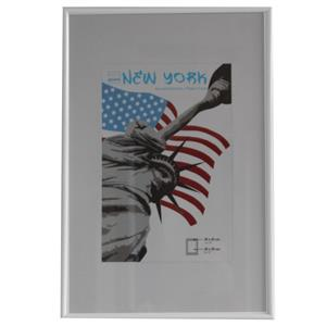 New York White Photo Frame - 30x45cm