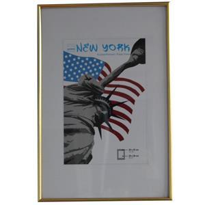 New York Gold Photo Frame - 30x45cm