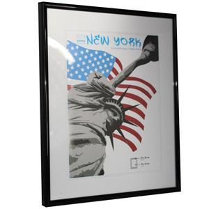 New York Black Photo Frame - 24x30cm