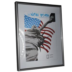 New York Steel Photo Frame - 24x30cm