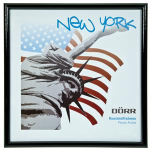 New York Black Photo Frame - 13x13cm