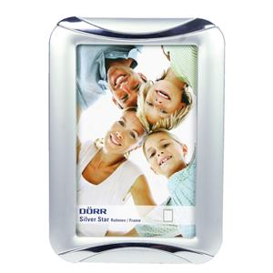 Silverstar Madrid Silver Matt 7x5 Photo Frame