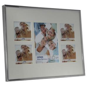 Silverstar Toskana Silver Multi Aperture Photo Frame