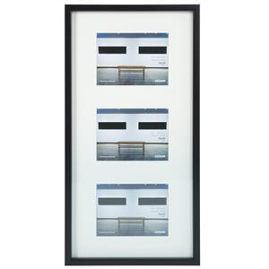 Dorr Art Gallery 3 Black 8x8  Photo Frame