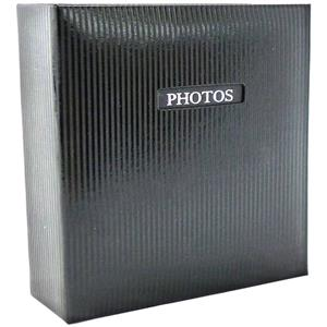 Elegance Black Traditional Photo Album - 50 Sides Overall Size 11.5x12.5