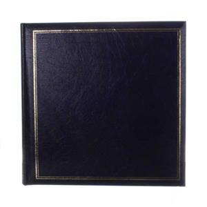 Classic Large Blue Traditional Photo Album - 100 Sides