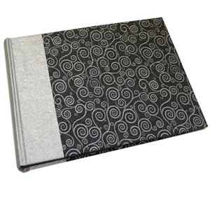 Life Silver and Black Traditional Photo Book Album - 40 Sides