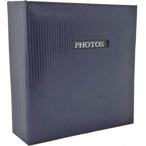 Elegance Blue Traditional Photo Album - 60 Sides Overall Size 9.75