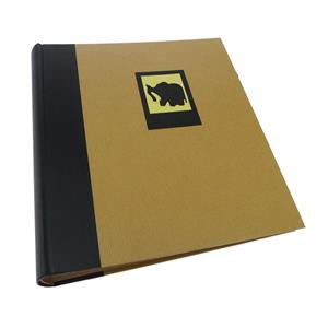 Green Earth Black Elephant Traditional Photo Album -100 Sides