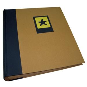 Green Earth Blue Starfish Traditional Photo Album - 100 Sides