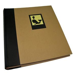 Green Earth Black Whale Traditional Photo Album - 100 Sides