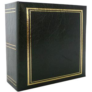 Classic Green 6x4 Slip In Photo Album - 200 Photos Overall Size 8.5