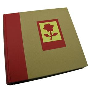 Green Earth Red Flower 6x4 Slip In Photo Album - 200 Photos