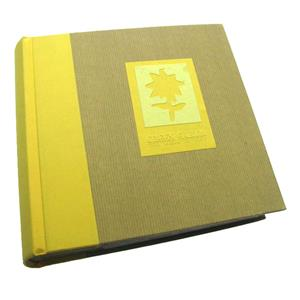 Green Earth Yellow Flower 6x4 Slip In Photo Album - 200 Photos