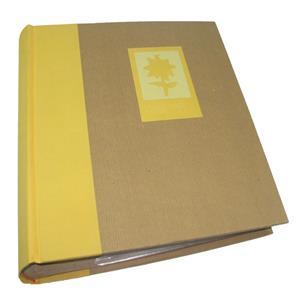 Green Earth Yellow Flower 7x5 Slip In Photo Album - 200 Photos