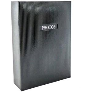 Elegance Black 6x4 Slip In Photo Album - 300 Photos Overall Size 13x9