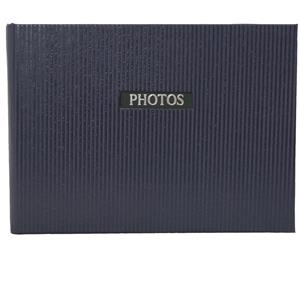 Elegance Blue 6x4 Slip In Photo Album - 36 Photos Overall Size 7x4.5