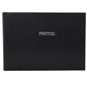 Elegance Black 7x5 Slip In Photo Album - 36 Photos Overall Size 8.5x6