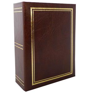 Classic Brown Mini Max 6x4 Slip In Photo Album - 96 Photos Overall Size 6.5x5