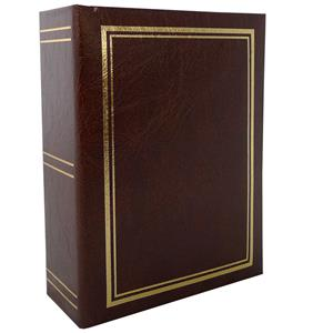 Classic Burgundy Mini Max 6x4 Slip In Photo Album - 96 Photos Overall Size 6.5x5