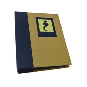 Green Earth Blue Seahorse Mini Max 7x5 Slip In Photo Album -120 Photos