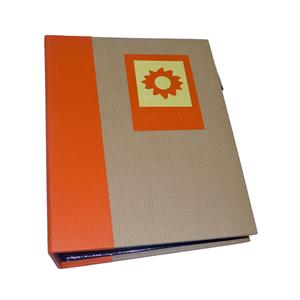 Green Earth Orange Sun Mini Max 7x5 Slip In Photo Album - 120 Photos