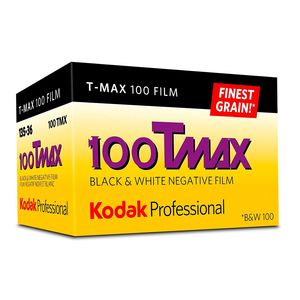 Kodak Professional Tmax ISO 100 36 Exp Black and White 35mm Print Film