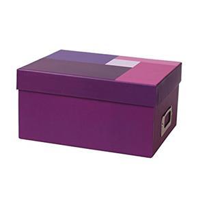 Dorr Purple Photo Box for 700 6x4 Photos